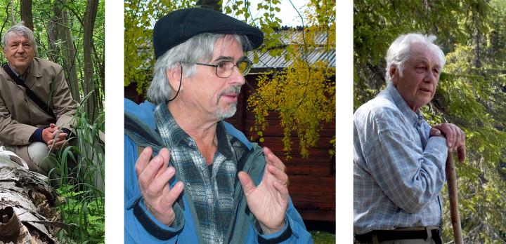 Bengt Ehnström, Martin Holmer och Rolf Kjellman