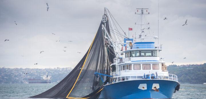 Fishing Trawler. Photo.